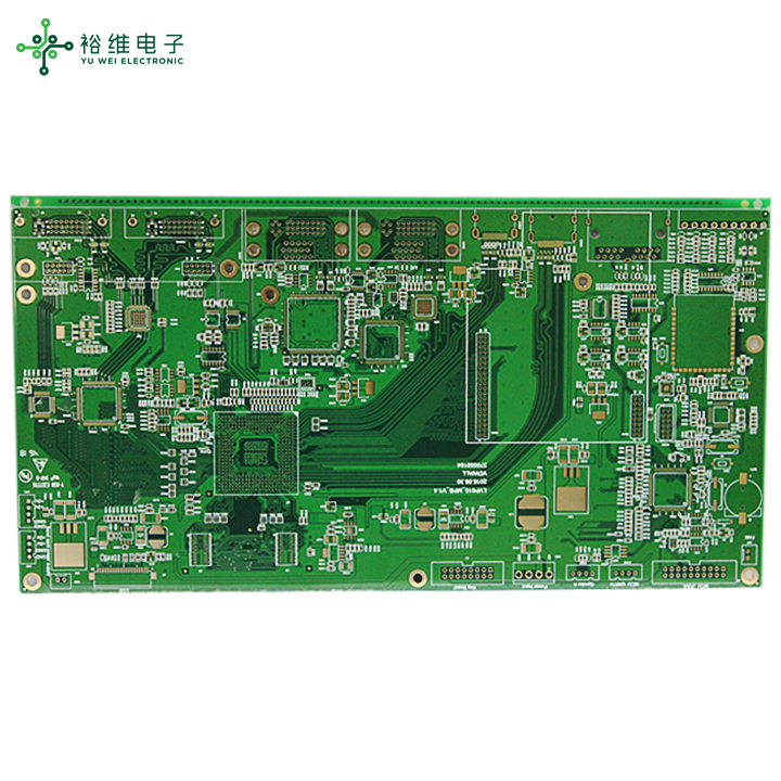 Quality inspection of multi-layer circuit board factory